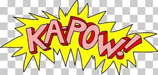 Batman Sound Effect Comic Book PNG