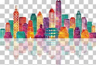 Hong Kong Skyline Stock Illustration Illustration PNG
