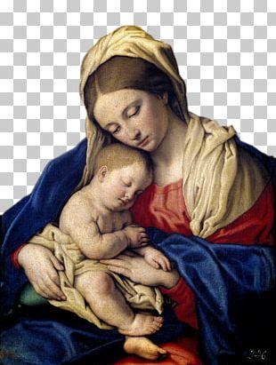 Mary Museo Nacional Del Prado Madonna And Child Giovanni Battista Salvi Da Sassoferrato The Virgin And Child PNG