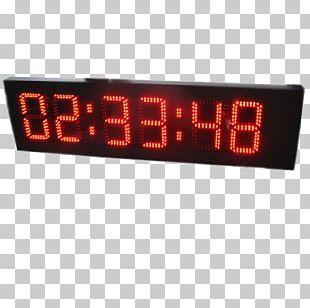 Display Device Digital Clock Liquid-crystal Display Seven-segment Display PNG