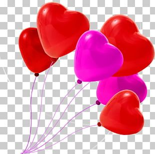 Heart Valentines Day Qixi Festival Balloon PNG