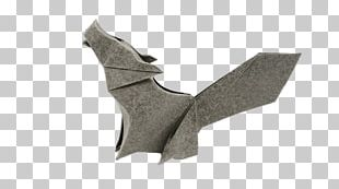 Origami Howling Woolf PNG