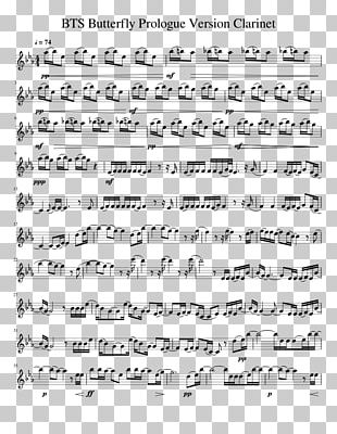 Sheet Music Black Butler Clarinet Piano Png Clipart Angle