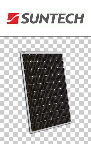 Solar Panels Capteur Solaire Photovoltaïque Suntech Power Solar Energy Photovoltaic System PNG