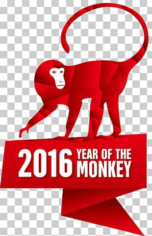 Monkey Chinese New Year Goat Calendar PNG