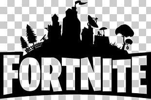 Fortnite Logo Black PNG
