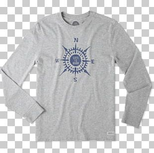 Long-sleeved T-shirt Hoodie Life Is Good Company PNG