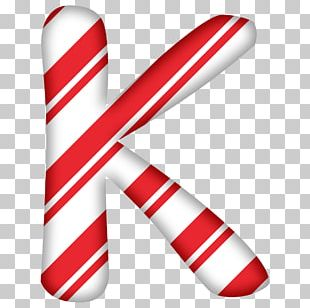Candy Cane Santa Claus Letter Christmas PNG