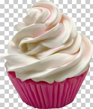 Cupcake Ice Cream Frosting & Icing Food PNG