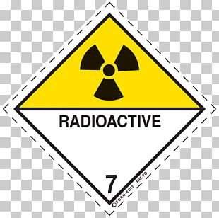 Dangerous Goods HAZMAT Class 7 Radioactive Substances Label HAZMAT Class 9 Miscellaneous Hazard Symbol PNG