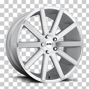 Custom Wheel Dub Rim Tire PNG