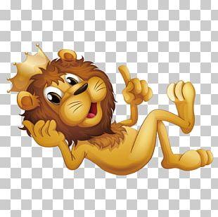 Lion Stock Illustration Cartoon Illustration PNG