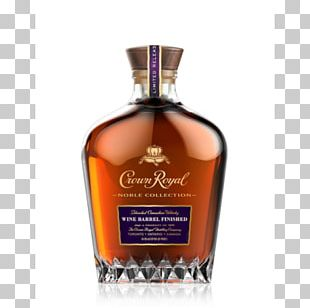 Crown Royal Bourbon Whiskey Canadian Whisky Blended Whiskey PNG