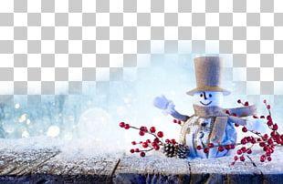 Facebook Winter Snowman Snowflake Season PNG