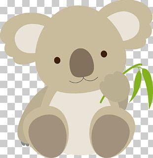 Koala Bear Cuteness Emoticon PNG