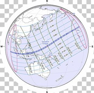 Solar Eclipse Of March 9 PNG