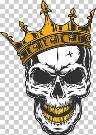 Skull Decal Drawing PNG