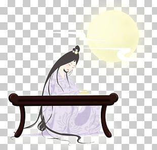 Mooncake Mid-Autumn Festival Cartoon Illustration PNG