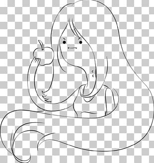Marceline The Vampire Queen Black And White Drawing Character PNG