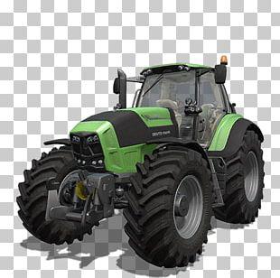 Farming Simulator 17 Tractor Agritechnica Case IH Deutz-Fahr PNG