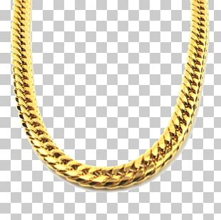The Gold Gods Chain Jewellery Necklace PNG