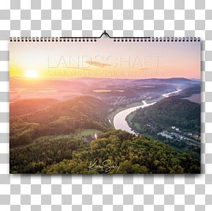 Saxon Switzerland Calendar Landscape Photography Dresden PNG