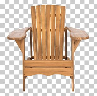 Table Adirondack Chair Garden Furniture PNG