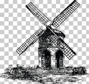 Windmill Wind Power Wind Turbine PNG