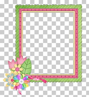 Frames Flower Floral Design Party Scrapbooking PNG