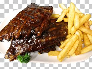 French Fries Steak Frites Ribs Chophouse Restaurant Barbecue PNG
