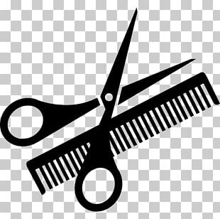 Comb Scissors Hairdresser Beauty Parlour PNG