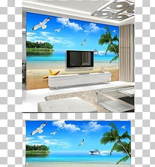 Mural Wall Decal Living Room PNG