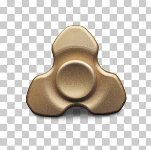 Brass Fidget Spinner Metal Material Bearing PNG