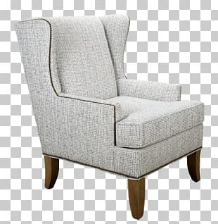Club Chair Table Upholstery Wing Chair PNG