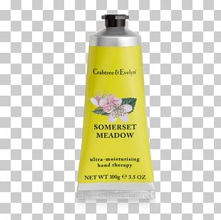 Lotion Crabtree & Evelyn Ultra-Moisturising Hand Therapy Cream Cosmetics Skin Care PNG
