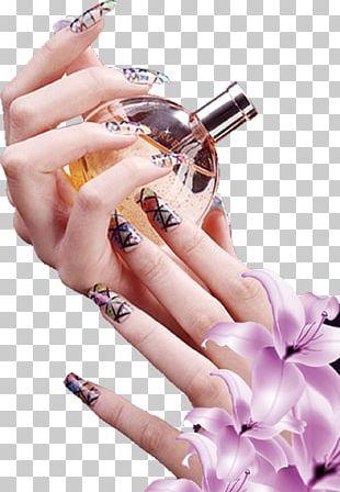 Nail Art Manicure Nail Polish PNG