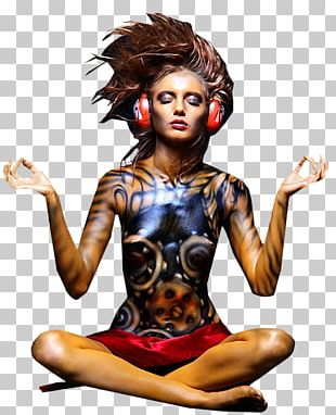 Body Painting Paper Woman Human Body PNG