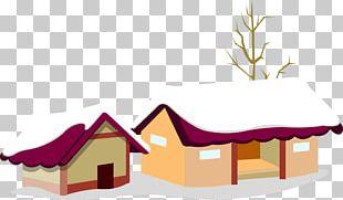 Santa Claus Christmas Village Christmas Card PNG