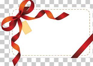 Gift Ribbon Valentine's Day Birthday PNG