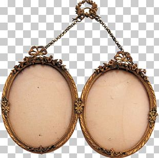 Frames Oval Charms & Pendants Antique Jewellery PNG