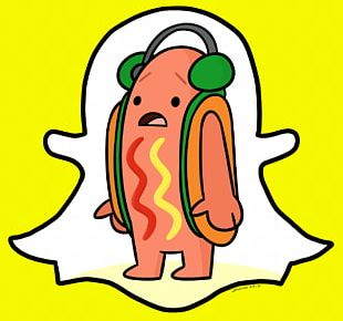 Dancing Hot Dog Thepix Sticker Snapchat PNG