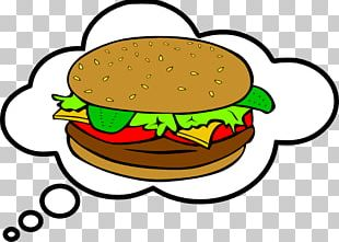 Hamburger Veggie Burger French Fries Cheeseburger PNG