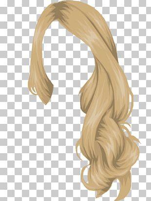 Stardoll Long Hair Hair Coloring PNG