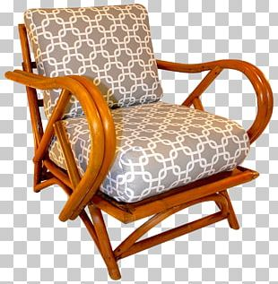 Eames Lounge Chair Furniture Chaise Longue Wicker PNG