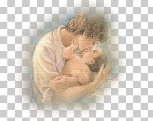 Painter Mother Woman Child Drawing PNG