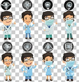 Nurse Physician Health Care Cartoon PNG