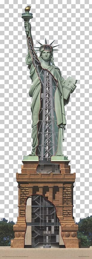 Statue Of Liberty One World Trade Center Hudson River Ellis Island The New Colossus PNG