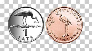 Slovenian Euro Coins 1 Cent Euro Coin 1 Euro Coin PNG
