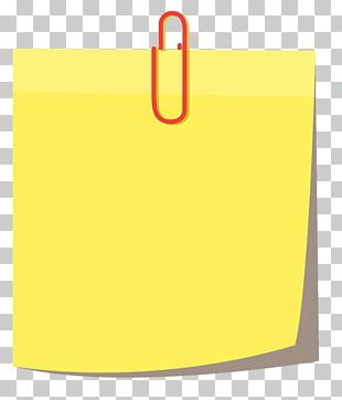 Paper Sticker Label Post-it Note PNG
