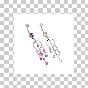 Earring Body Jewellery Pearl Bead PNG